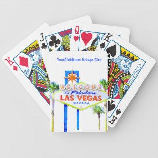 Las Vegas personlig Spelkort