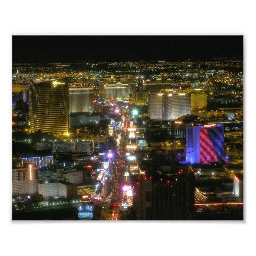 Las Vegas remsa 8x10 Fototryck