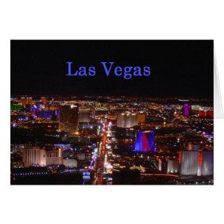 Las Vegas remsa Hälsningskort