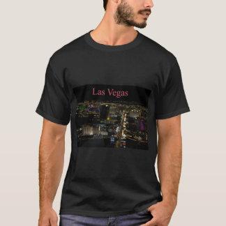 Las Vegas remsa på natten Tee Shirts