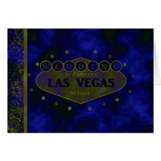 Las Vegas Retro bröllopkort