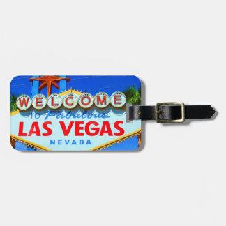 Las Vegas skräddarsy bagagemärkren Bagageetiketter