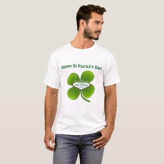 Las Vegas St Patrick dagskjorta T Shirt