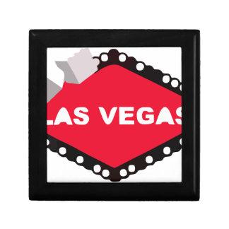 Las Vegas tärningljus som spelar kasinoseger, Minnesask