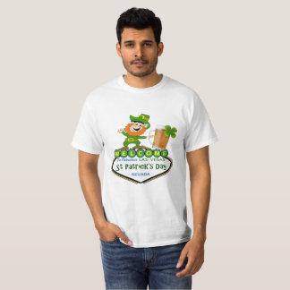 Las Vegas troll & ölSts Patrick skjorta T Shirts