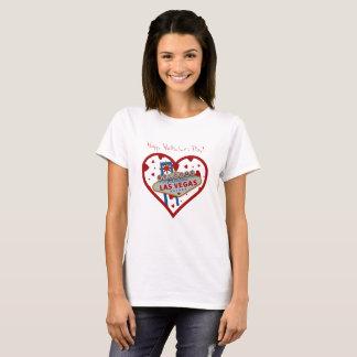 Las Vegas valentin skjorta för dag Tee Shirts