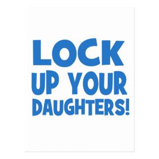 Låsa upp dina döttrar! vykort