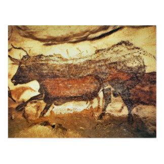 Lascaux förhistoriska grottamålningar vykort