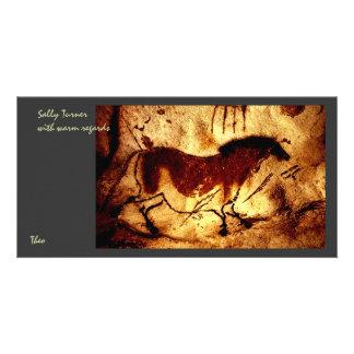 Lascaux häst fotokort