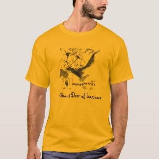 Lascaux jättehjort t-shirts