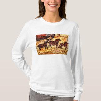 Lascaux stenkonst tee shirt