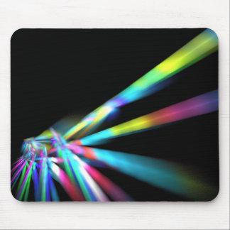 Laser strålar mus mattor