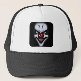 Läskig clown truckerkeps