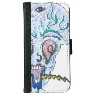 läskig främling plånboksfodral för iPhone 6/6s