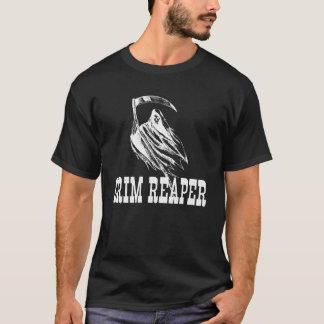 Läskig grym Reaper och Scythe Halloween T-shirts