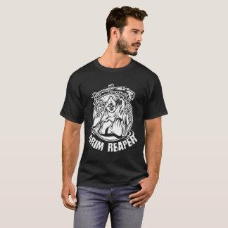 Läskig grym ReaperHalloween illustration Tee Shirts