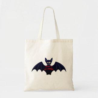 Läskig halloween vampyrfladdermöss budget tygkasse