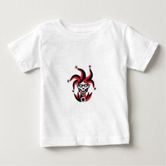 Läskig jokerdesign tee shirts
