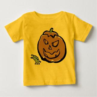 läskig pumpa t-shirt