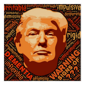 Läskig sanning, Anti Donald Trump affisch