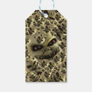 läskiga konstprodukter för ghoul presentetikett