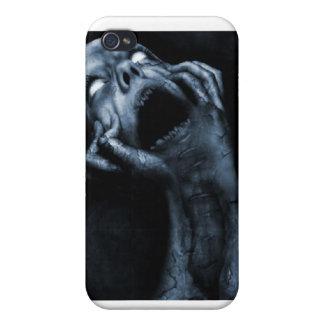 Läskigt gotiskt fodral iPhone 4 hud