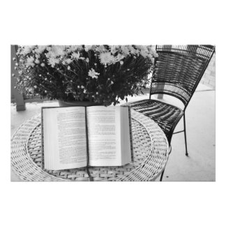 Läsning Fototryck