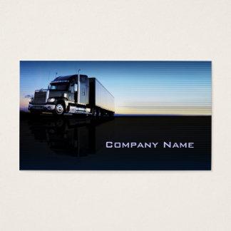 Lastbil - transport- & logistikvisitkort visitkort