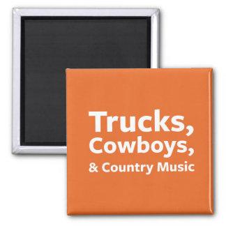 Lastbilar, Cowboys och countrymusik Magnet