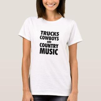 Lastbilar, Cowboys och countrymusik T Shirts
