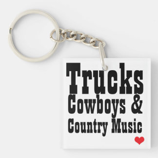 LastbilCowboys & countrymusiknyckelring