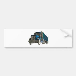 lastbilkörning bildekal