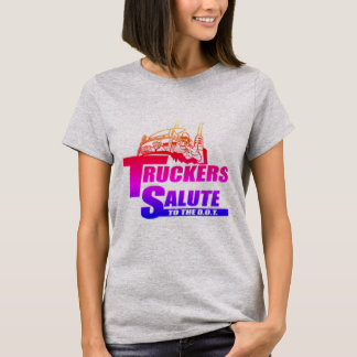 Lastbilsförarehonnör Tee Shirt