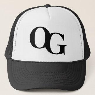 """Lastbilsförarelock för OG """"original- Gangsta"""" Truckerkeps"""
