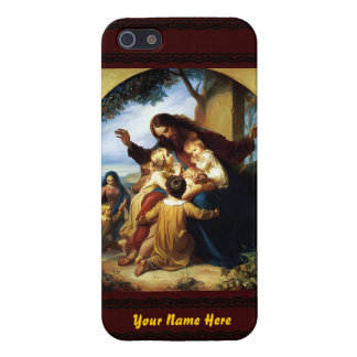 Låt barnkomen till mig iPhone 5 cover