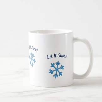 Låt det snöa, låt det snöa, låt det snöa kaffemugg