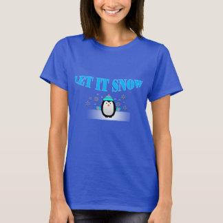 Låt det snöa pingvinT-tröja T-shirts