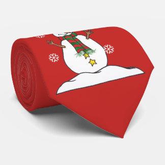 Låt det snöa - snögubbe - tien slips