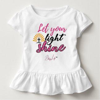 Låt ditt ljusa skensmåbarn rufsa utslagsplatsen tshirts