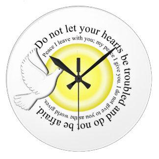 Låt inte din hjärta besväras stor klocka