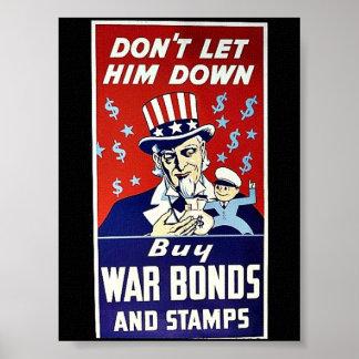 Låt inte honom besegra, köpkrigförbindelser och poster
