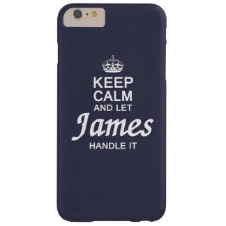 Låt James behandla det! Barely There iPhone 6 Plus Fodral