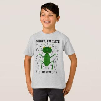 Låt mig i t-skjorta tröja