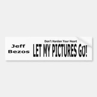 Låt min bilder gå! bildekal