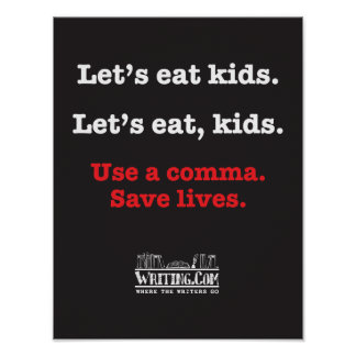 Låt oss äta kids. poster
