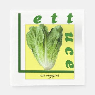 Låt oss äta Veggiesservetter Servett