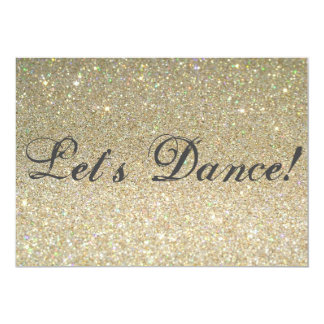 Låt oss dansa! 12,7 x 17,8 cm inbjudningskort