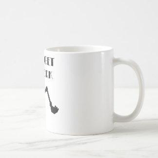 Låt oss få fungera kaffemugg