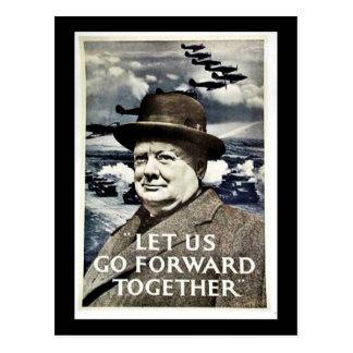 Låt oss gå för krig vykort