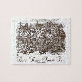 Låt oss ha någon Tea (underland Alice) Pussel